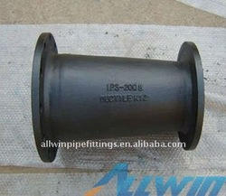 high quality for EN545/ISO2531 ductile iron double flanged taper/reducer