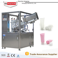Automatic Laminated Tube Filling and Sealing Machine for Shampoo