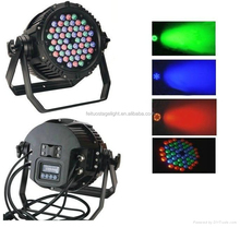 Waterproof outdoor dmx led lightings 54x3w rgbw led stage light par led par 54