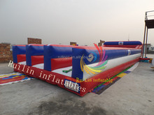 3 lane inflatable bungee run price, running bungee cord for sale