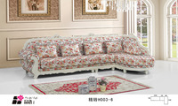 Modern living room furniture Antique old style wooden fabric sofa for sale