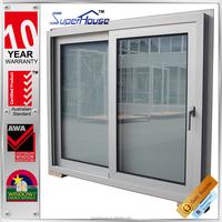 Australia pouplar Aluminium interior office sliding glass reception window with German hardware