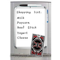 "11"" x 8.5 Magnetic refrigerator magnet memo board"