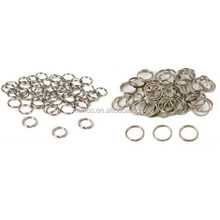 Stainless Steel Split Rings, Nickel Plated Split Rings For Connecting Jewelry 9mm & 12mm Kit 100 Pcs