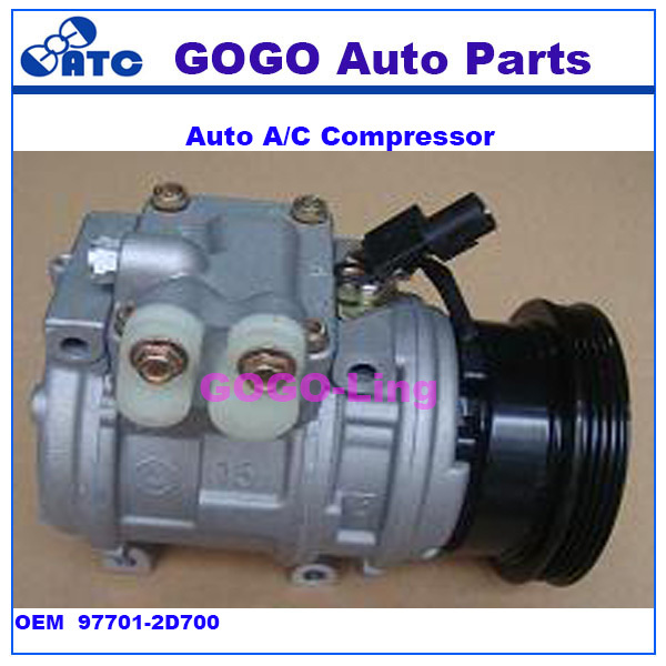 10PA15C Air Conditioning Compressor FOR <strong>K</strong> ia Sportage H yundai Tucson OEM 97701-2D700 97701DF100 , 97701DF100 , 97701-2F110