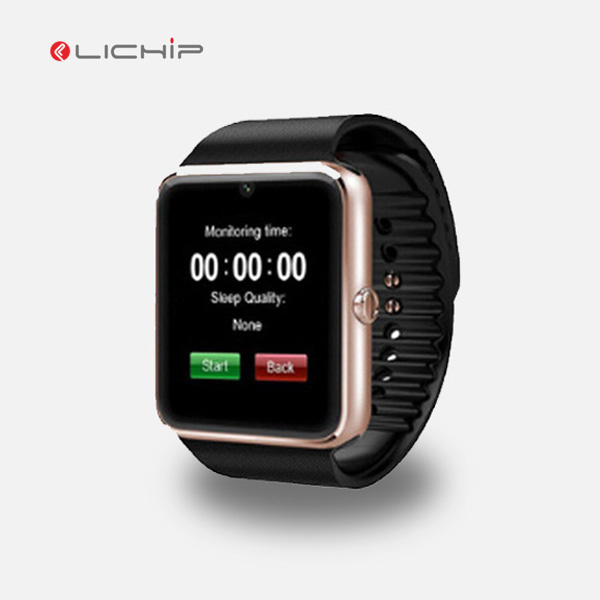 LICHIP gto8 gt 08 gt-08 bands ce rohs mtk6261 android whatsapp facebook plus GT08 smart watch wach mobile phone bt notifier