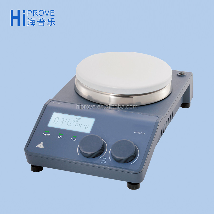 Safety LCD Digital Magnetic Hotplate Stirrer with Timer