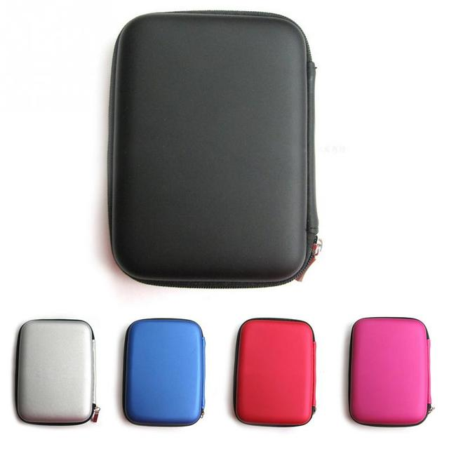 Classic Hard Carry Case Cover Pouch for 2.5 inch Power Bank HDD Hard Disk Drive Protect Protector Bag Enclosure Case