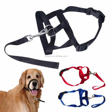 Lorewin LY-015C head collar Pet Dog Nylon Halter Training Nose Reigns Head Collar for Dogs Helps Stop Pulling Kindly