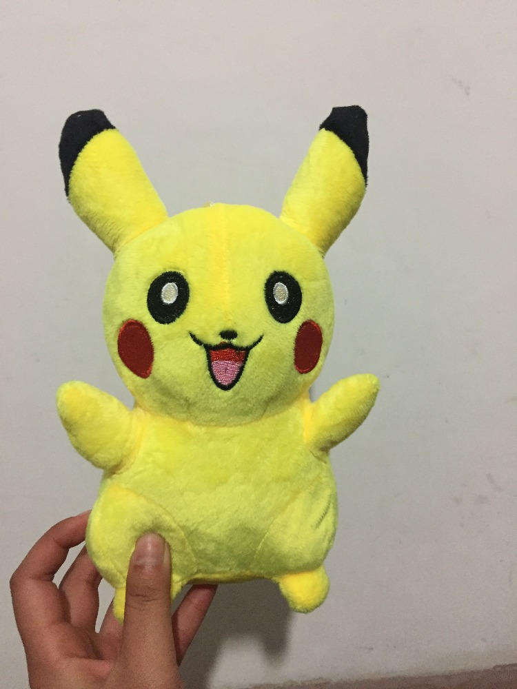 Pokemon pikachu plush doll pika plush toys stuffed animal