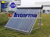 Solar Flat Panel Collector :Heat Pipe Vacuum Tube Solar Collector with heat pipe