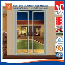 Prefabricated french residential used casement doors