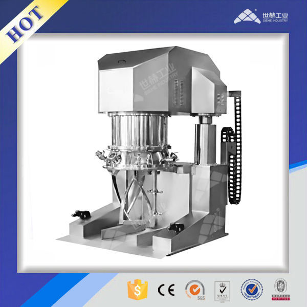 Dual Planetary Mixing Machine for high viscosity materials
