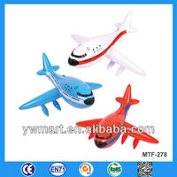 Custom inflatable toy plane, inflatable plane toy for children, PVC inflatable plane