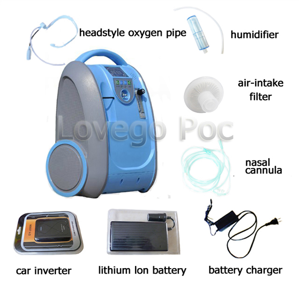 small electric portable oxygen generator price