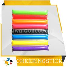 ldpe cheering sticks,novelty inflatable stick,wooden noise makers