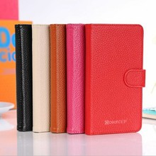 Colorful flip leather case for galaxy note 3 simple designed phone case