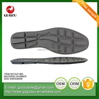 thick rubber sole for men shoe making