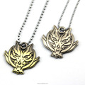 New god eater pendant wolf head necklace game necklaces jewelry men women kids gifts
