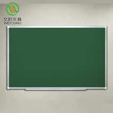 School Classroom Decorate Green Chalk Board With Magnetic Green Dry Erase Surface