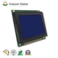 2.5 inch small screen blue backlight price 128x64 cog graphic LCD module