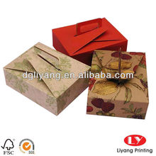 Colorful decorative Cake packaging box