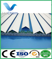 Factory low price aluminum V shaped strip ceiling metal suspended decorative ceiling