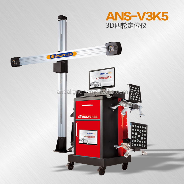 3d wheel alignment with john bean calibration system