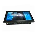 2xRJ45 And 4xRS232 Industrial Grade Embedded Linux OS Touch Panel PC 10''