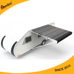 Hot sale open type trailer rv awning for car