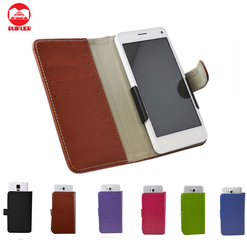 Factory Wholesale Book Style Flip Wallet PU Leather Case for Zte Grand X2
