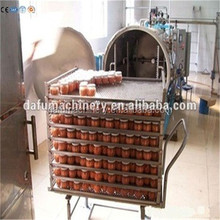 Industrial high pressure food processing autoclave equipment / pasteurizer for jars