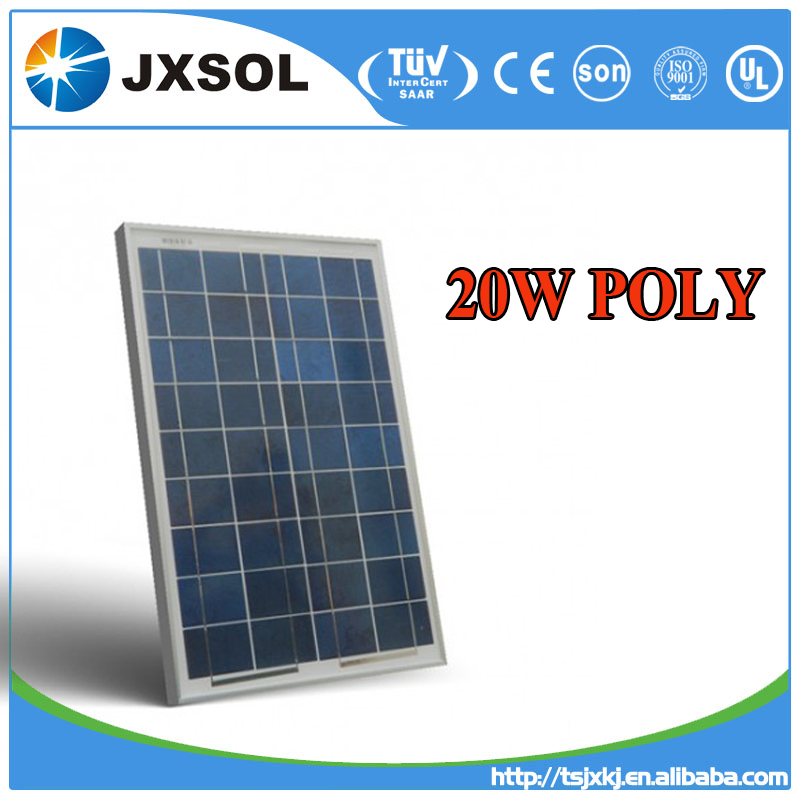 chinese wholesale photovoltaic polycrystalline 20w pv solar panel