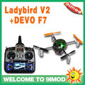 Walkera UFO QR Ladybird V2 with DEVO F7 Transmitter FPV Quadcopter RTF