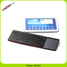 Hot Selling Mini Wireless Bluetooth Computer Keyboard Laptop Bluetooth Keyboard With Touchpad
