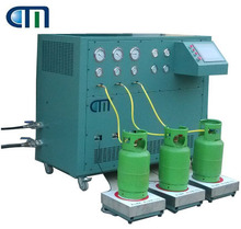 Three Stations R22 / R134a Refrigerant Charging Filling Machine for ISO Tank