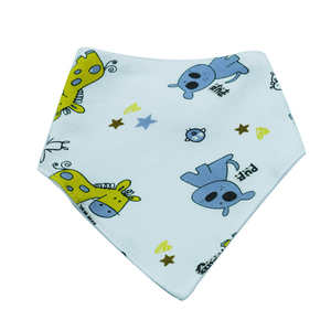 New arrival customized design baby waterproof bib bandana