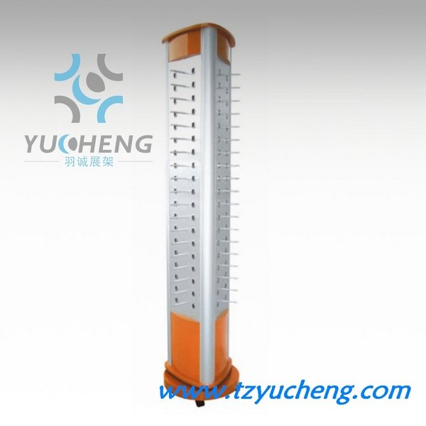 [YUCHENG]ACPC rotating floor 3-sides eyewear display stands witn color Y302