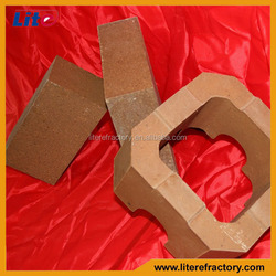 92% 95% 97% MgO Magnesite Sand Fused Sintered A Hole Magnesia Refractory Brick for Furnace