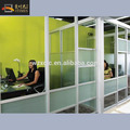 Aluminium glass office partition wall