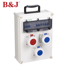 B&J 2018 Cheap Price Abs Plastic Cover Electronic Meter Junction Box With Handle