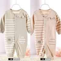 spring and summer cotton long-sleeved baby girl birthday dresses
