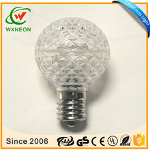 Christmas Light G30 LED Faceted Bulb
