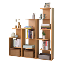 Customizable modern wooden bookshelf living room bookcase children's kindergarten doll house bookshelf children storage <strong>shelf</strong>
