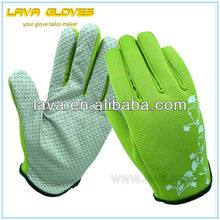 Kids Pvc Dots Utility Gardening Gloves