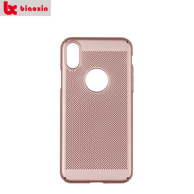 CE Approved Reticulated Case For Iphone x 2017,Radiating Case Cell Phone Accessories For Iphone x,For Iphone x Case Rose Gold