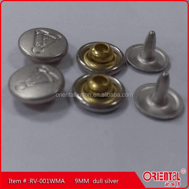 Good quality brass Rivets 9mm