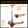 LED Light Aluminum 4 Wheels kick scooter