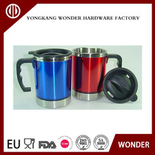 Factory sale corporate gift customize 16oz double wall stainless steel tea travel mug coffee mug travel