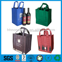2016 Top Glad ,Nonwoven Non woven Wine Bottle Cooler Bag/elegant and beautiful